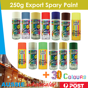 Quality Australian Export Spray Paint Cans 250gm Fast