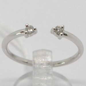 ANILLO-DE-ORO-BLANCO-750-18-CT-ABIERTO-DOBLE-PIEDRA-CON-DIAMANTE-QUILATES-0-07