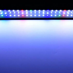 5730 led vollspektrum aquarium beleuchtung 90 120cm lampe f r pflanzen koralle ebay. Black Bedroom Furniture Sets. Home Design Ideas