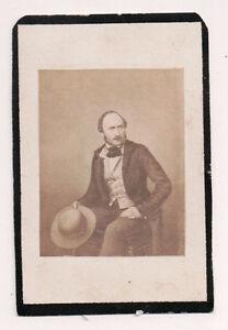 Vintage-CDV-Albert-of-Saxe-Coburg-amp-Gotha-Prince-Consort-Britain-Mourning-Card