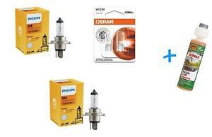 H4-Vision-Premium-Bis-30-Licht-2St-Philips-W5W-Original-Sonax-Klarsicht