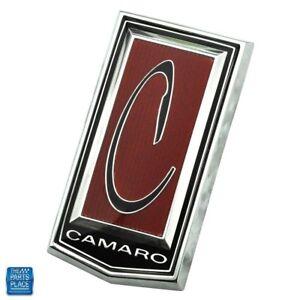 1971-74-Chevrolet-Camaro-Front-Header-Panel-034-C-034-Emblem