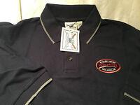 Oarsman 913 Mens Navy Blue Polo Shirt Winchester San Jose Ca