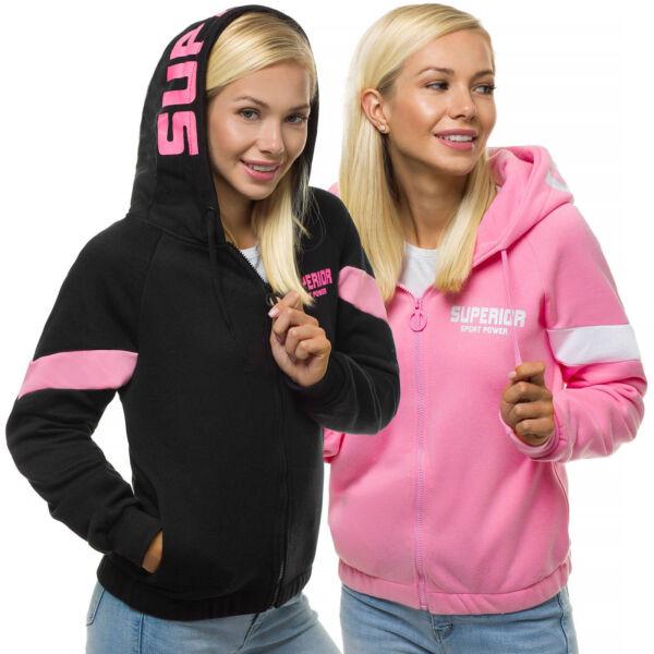 Kapuzenpullover Sweatjacke Sweatshirt Pullover Hoodie Sport Zip OZONEE 13 Damen