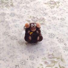 monkey ring Cheeky Adjustable Handmade Cute Goth Retro Emo
