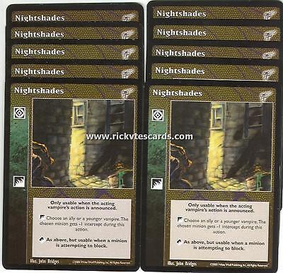 Nightshades x10 KMW VTES Jyhad