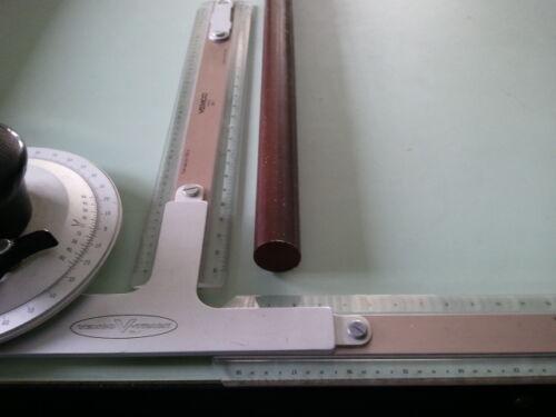 """1/"""" DIA x 24/"""" Long  URETHANE POLYURETHANE 75 D BROWN ROUND Bar P//N 10342"""