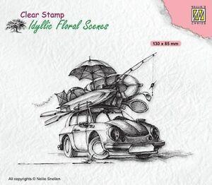 Motiv-stempel Clear stamp Summer vacation Urlaub Holidays Auto Nellie IFS038