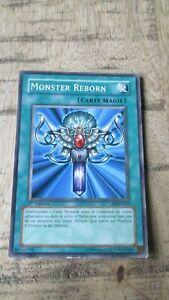 Carte Yu-Gi-OH-Monster reborn-1ere édit.Française-DDJ-F035