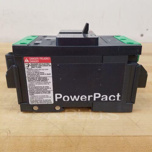 3P 30Amp Square D BJL36030LU Molded Case Cuircuit Breaker USED 600Y//347V