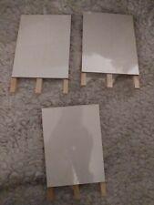 3 X Small Draw Erase Boards Lot