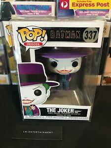 DC-COMICS-BATMAN-THE-JOKER-1989-FUNKO-POP-VINYL-FIGURE-337-NEW-PROTECTOR
