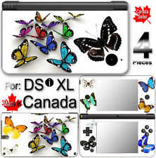 Butterfly SKIN COVER DECAL  STICKER for Nintendo DSi XL