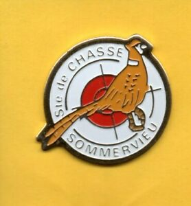 Lapel-pin-Pin-039-s-Pins-Oiseau-Ste-de-CHASSE-SOMMERVIEU-Faisan-HUNTING-Pheasant
