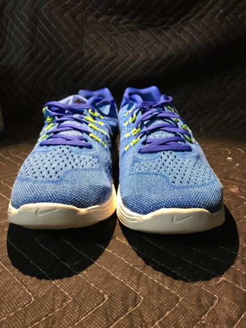 official photos 67472 fac99 Nike Men s Lunartempo 2 Running Trainer Shoe 818097-401 Blue White Size 12