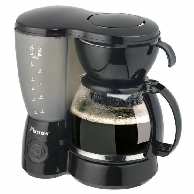 Bestron Cafetière électrique machine à espresso Noir 800 W ACM6081Z