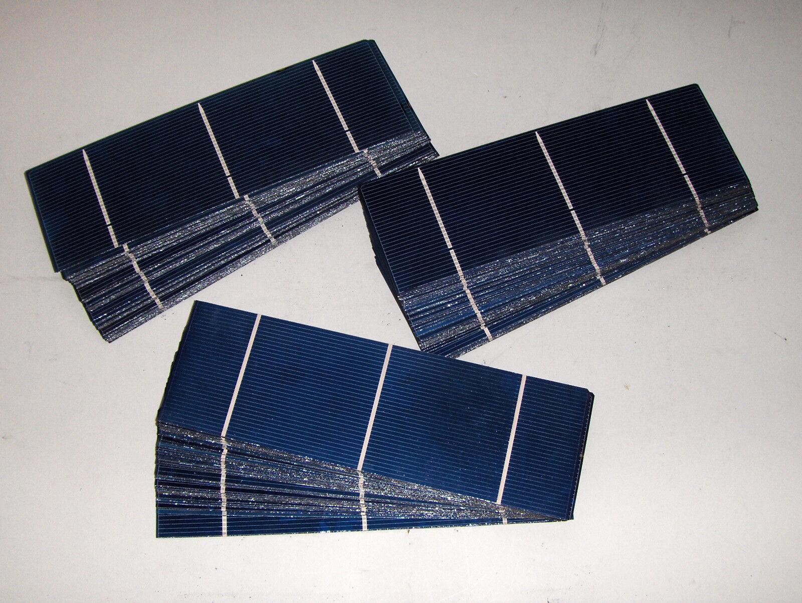 40-80-120 2x6 solar cells, .5v x 2.4 amp, 36 cells make a 44 wt panel,nice Größe