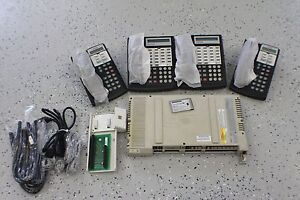Avaya-Lucent-Partner-ACS-Business-Phone-System-4-Phones-Refurbished