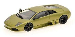 Lamborghini-Murcielago-LP640-2006-Green-Metallic-1-43-Model-400103921-MINICHAMPS