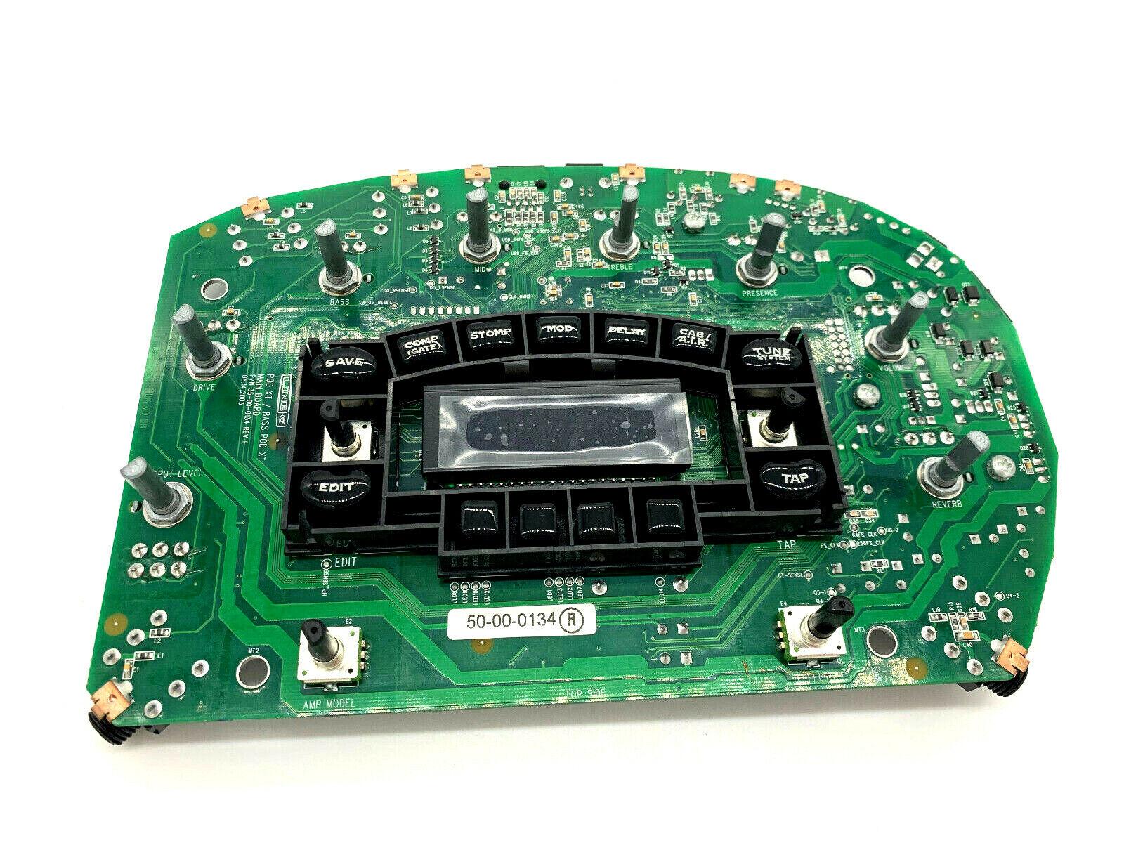 Main Board PCB Line6 Bass Pod PART   35-00-0134 REV E