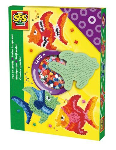 SES creative* 00755 Bügelperlenset Fisch Bügelperlen