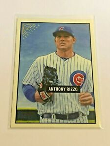2017-Topps-Gallery-Baseball-Heritage-Anthony-Rizzo-Chicago-Cubs