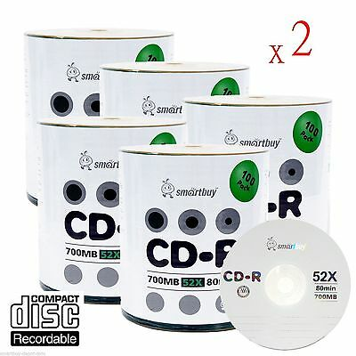 50 Pack MyEco CD-R CDR 52X 700MB 80Min Economy Logo Top Write Once Blank Media Record Disc