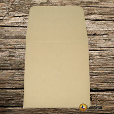 250 2x2 Tan Kraft Paper Coin Envelopes - Acid and Sulpher Free Safe for Coins