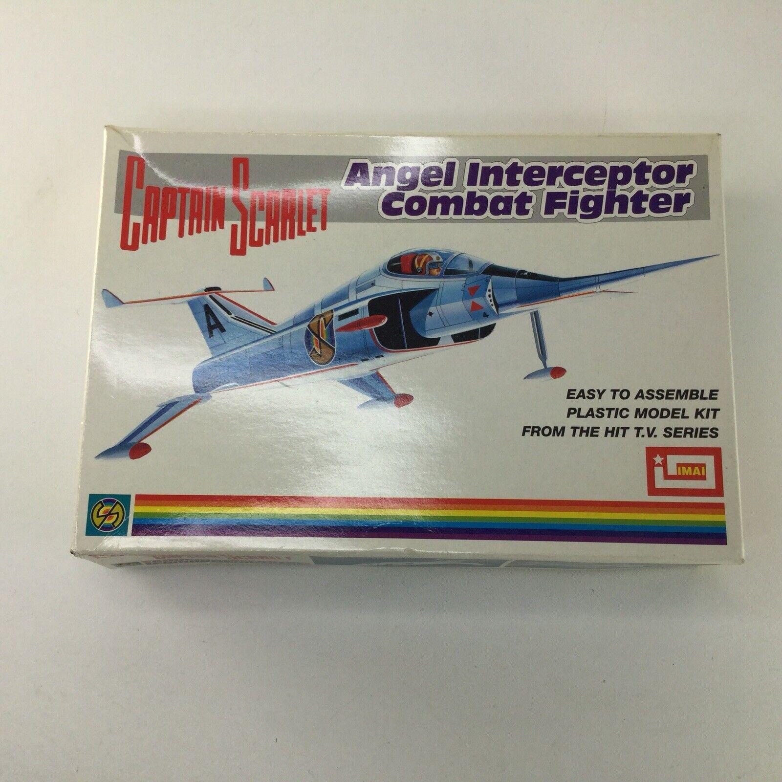 IMAI Captain Scarlet Angel Interceptor Plane Plastic Model Kit Brand New Unused