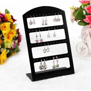 24-Holes-Earring-Jewelry-Show-Plastic-Display-Rack-Stand-Organizer-Holder-HQ