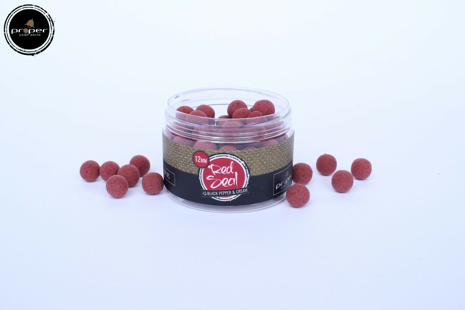 Nouveau propre carpe appâts Red Seal Full Range Range Full  Pop Ups, Wafters, pâte, trempettes 20a350