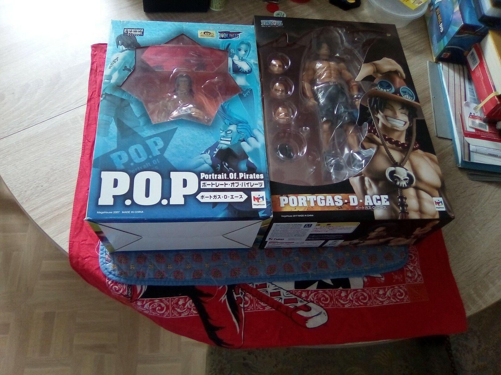 Lot One Piece POP Ace Variable Acción Heroes neuve + 1 occasion