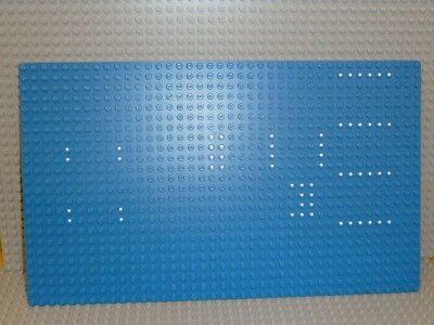 LEGO® Grundplatte Bauplatte 16x32 Noppen Platte Blau Piraten Ritter Wasser City