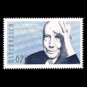 Austria-2014-150th-Anniv-the-Birth-of-Richard-Strauss-Composer-Sc-2507-MNH