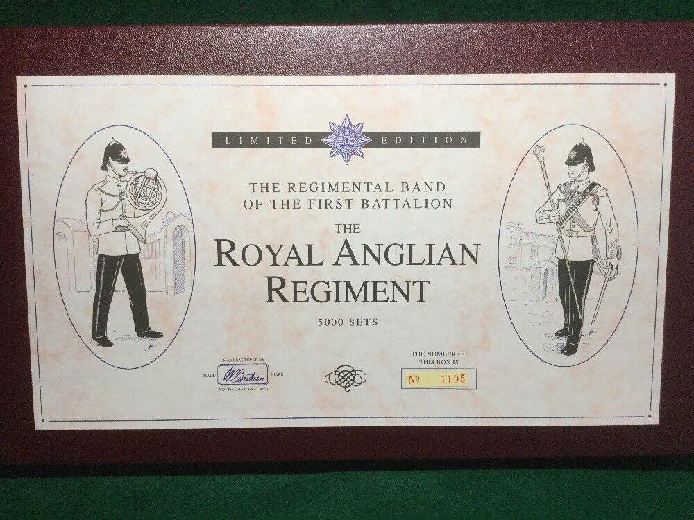 BRITAINS 5294 ROYAL ANGLIAN REGIMENT