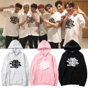 KPOP Monsta x Japan Concert Cap Hoodie HYUNGWON JOOHEON Unisex Pullover Coat New