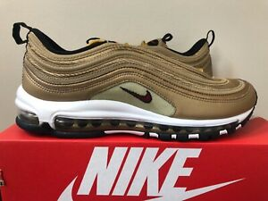 cheap for discount 6d1a1 2ae9e Image is loading 2018-Nike-Air-Max-97-OG-Metallic-Gold-