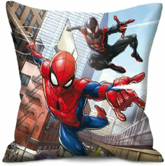 "Spiderman Polyester Filled Cushion 40cm X 40cm (16"" X 16"")"