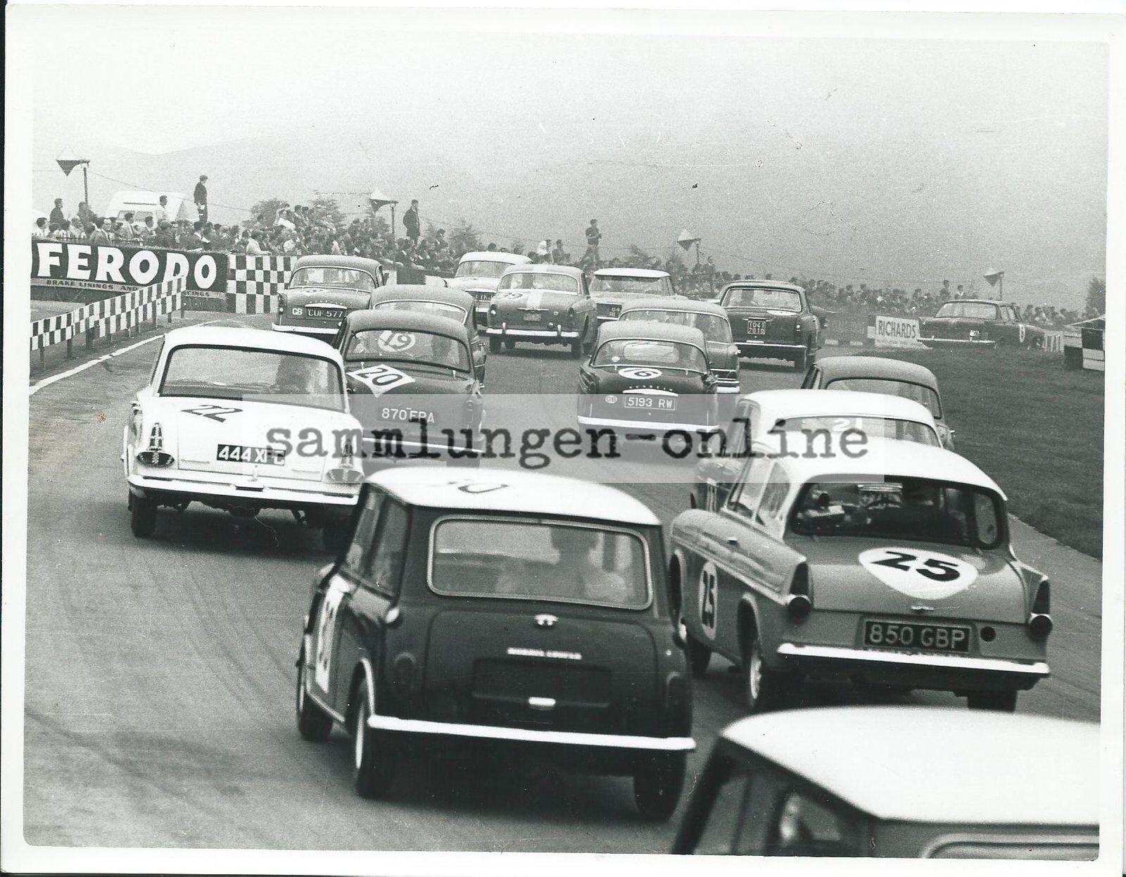 Début   Motor   6h Race 1962 BMC, Hatch Sport Mécanique Photo Photo Photographe