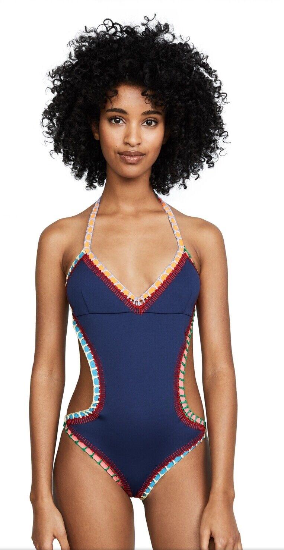 Kiini de  una sola pieza Tasmin Mono maillot Traje De Baño Con Detalle Cut-out Y Crochet TR  ventas directas de fábrica