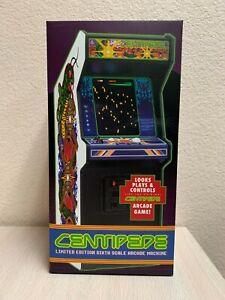 New Wave Toys Replicade Amusements Atari CENTIPEDE 1/6 Scale Arcade Machine NEW