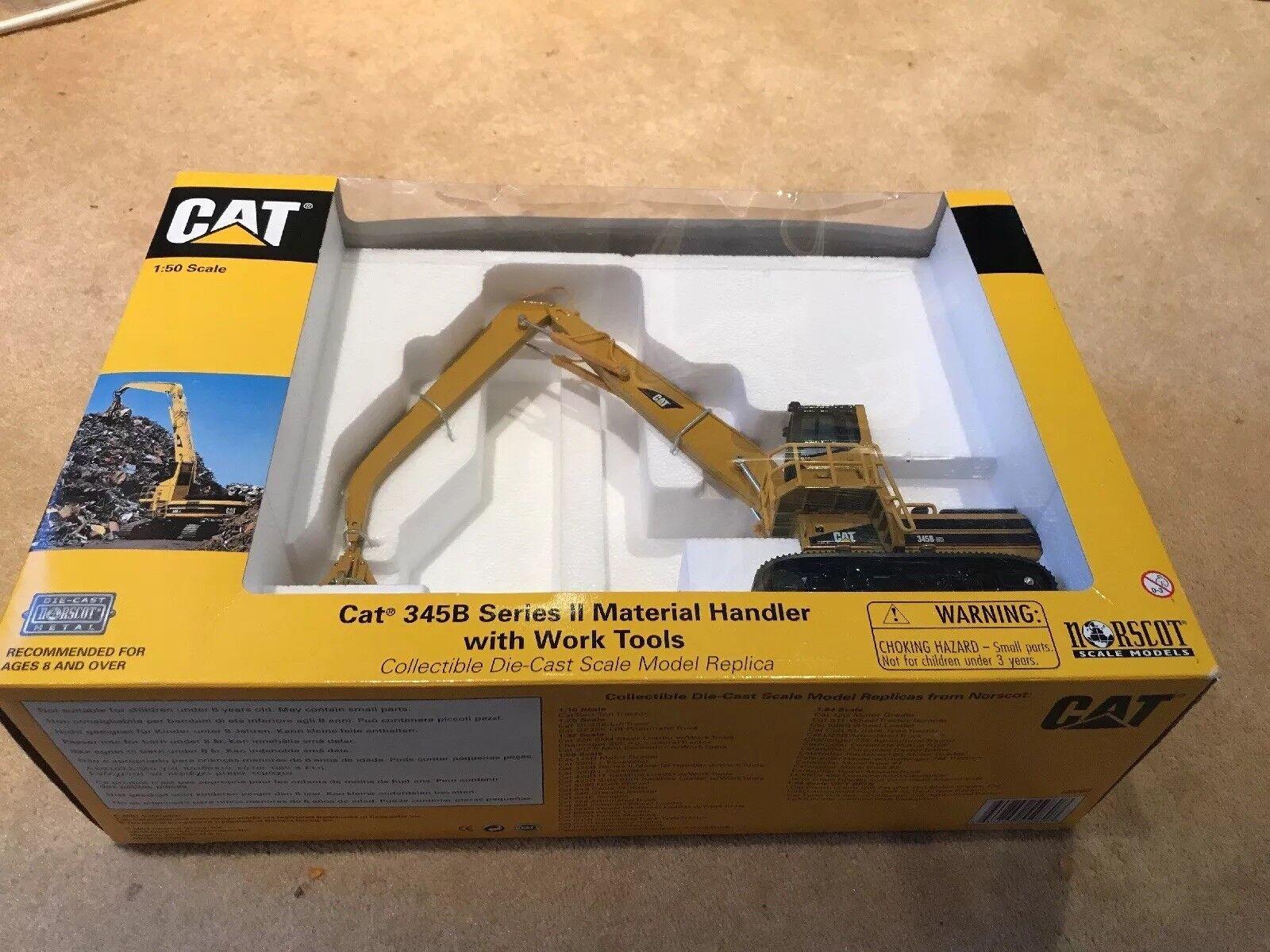 Cat 345b Series II Material Handler With Work Tools