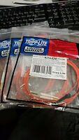Tripp Lite Duplex Fiber Optic Cable L/mtrj N314-02m 6ft ( Lot Of 3 )