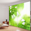 3D Green leaf 8 Blockout Photo Curtain Printing Curtains Drapes Fabric Window AU