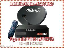 DISHTV HD+ Connection +Free North Titanium Pack + HD pack Worth ₹755 +INSTALLATN