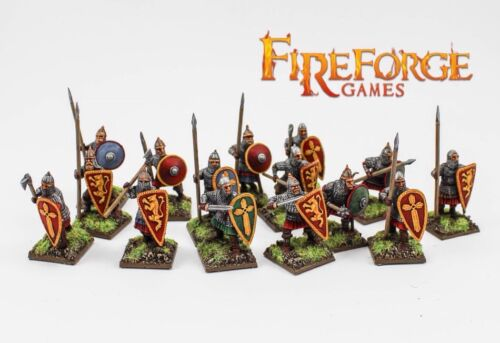Fireforge Games Deus Vult 28mm Medieval Russian Infantry The Crusades