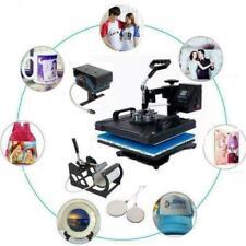 12x15 5 In 1 Heat Press Machine Digital Transfer Printer Sublimation Combo Kit