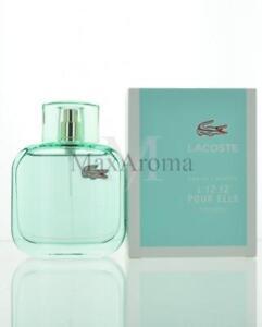 26e3745df6b11 Lacoste L.12.12 Pour Elle Natural Eau De Toilette 3 Oz 90 Ml Spray ...
