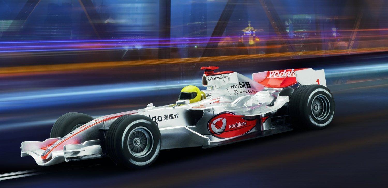 SCALEXTRIC C2986   Vodafone McLaren Mercedes 2009 - Heikki Kovalainen