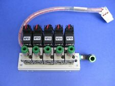 Used with 4 Valves SMC VZ110 Solenoid  Valve Manifold Assembly